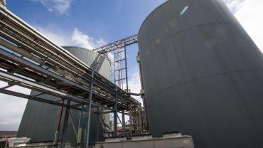 L'usine de biométhanisation d'Ypres où sont envoyés 9.000 tonnes de déchets alimentaires bruxellois