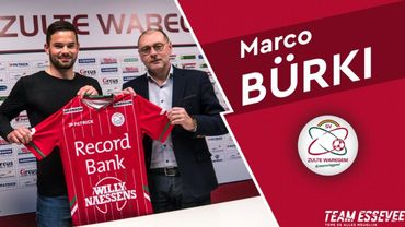 Marco Bürki à Zuilte Waregem