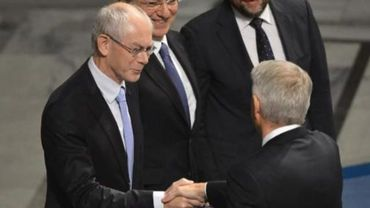 L'UE verse l'argent de son Nobel à des enfants victimes de guerres