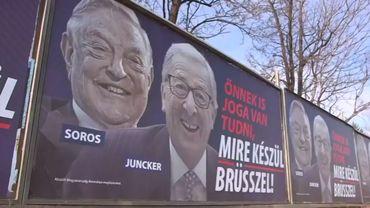 Des affiches europhobes payées par le gouvernement hongrois