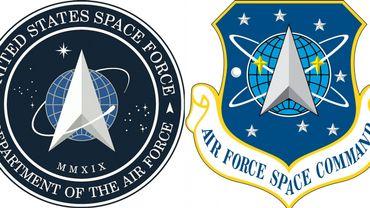 Le logo de la Force spatiale américaine devrait vous rappeler quelque chose