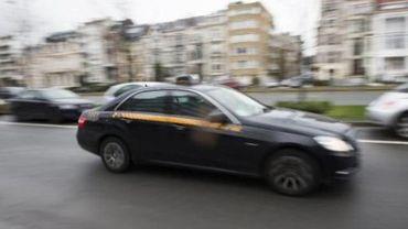 Manifestation des taxis bruxellois : La police de la zone Midi organise une conciliation