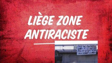 Des échaufourées, à la fin d'une manifestation antifasciste, samedi, à Liège