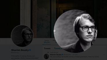 Marteen Boudry, le jeune philosophe à l'origine de la polémique.