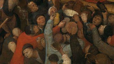"""""""Le vin de la Saint-Martin"""" de Pieter Bruegel l'Ancien"""