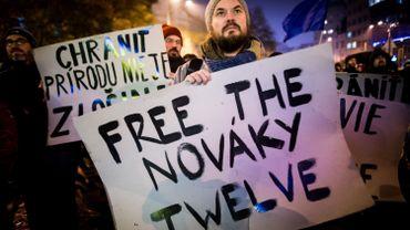 Greenpeace avait manifesté pour la libération des activistes.