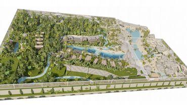 Projet de The Sanctuary, une serre tropicale de plus de 5 hectares