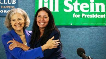 Jill Stein et sa colistière Cheri Honkala représentent les Verts