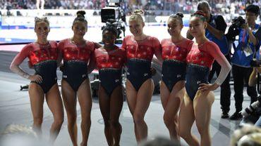 Les gymnastes américaines sacrées, 15e médaille d'or pour Simone Biles