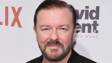 """Ricky Gervais a créé, réalisé et joué dans la comédie noire """"After Life"""", sortie en avril 2019 sur Netflix."""