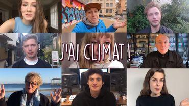 Impressionnante mobilisation d'artistes belges (dont beaucoup d'artistes Pure) pour le climat