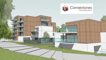 Un prermier investissement wallon pour le groupe flamand Cornerstone développement