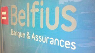 L'agence Belfius de Namur