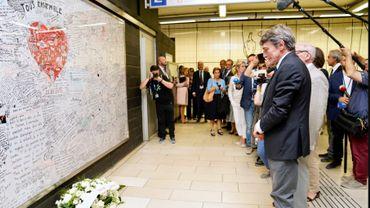 Le nouveau président du Parlement européen rend hommage aux victimes du terrorisme