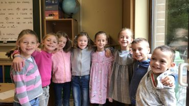 Ecole communale d'Herve: 4 paires de jumeaux dans la même classe