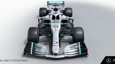 Mercedes présente sa W10 EQ Power+, son bolide pour 2019