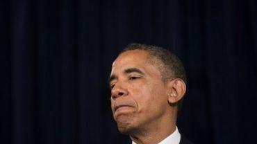 Le président Barack Obama, le 7 juin 2013 à San Jose en Californie