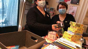 Le magasin Florilège peut vendre des livres mais les jouets doivent être commandés en ligne et retirés au magasin