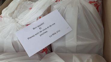 Un donateur anonyme offre 200 repas aux bénéficiaires du CPAS de Jodoigne