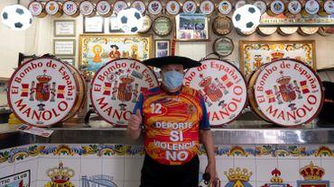 """Manuel Caceres Artesero, alias """"Manolo el del Bombo"""" (""""Manolo du tambour"""")"""