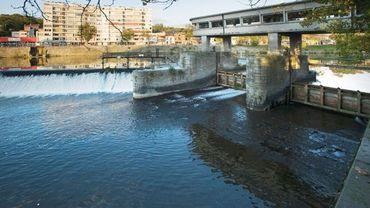 Le barrage des Grosses Battes