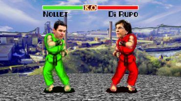Politic fighter, les duels des élections: en Hainaut, Jean-Marc Nollet (ECOLO) affronte Elio Di Rupo (PS)