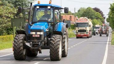 Des tracteurs dans toute la Belgique