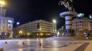 Vue de Skopje