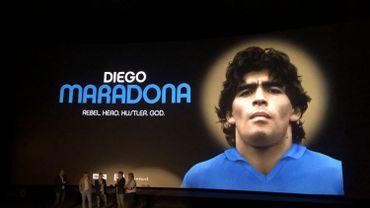 Des ex-Diables Rouges à l'avant-première du documentaire sur Diego Maradona
