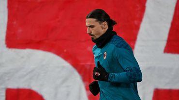 Zlatan Ibrahimovic n'a pas joué à Belgrade mais a été victime de propos racistes.