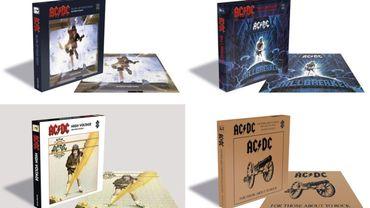 Des puzzles AC/DC pour le mois de septembre!