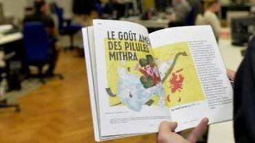 """Le magazine Médor censuré à cause d'un article sur Mithra: l'AJP se dit """"scandalisée"""""""