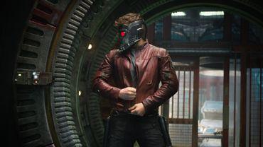 """Le héros des """"Gardiens de la Galaxie"""", Star-Lord, interprété par Chris Pratt, dévoile son masque"""