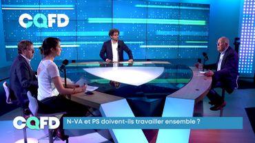Charles Picqué (PS) et Siegfried Bracke (N-VA) étaient les premiers invités de la nouvelle formule de CQFD, diffusé en radio vers 18h15 sur La Première et en tv dès 20h sur La Trois.