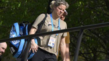 """Clijsters: """"prête à recommencer à jouer dès que cela sera possible"""""""