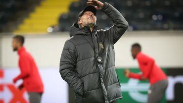 """Michel Preud'homme """"considère Francfort au même niveau qu'Arsenal"""""""