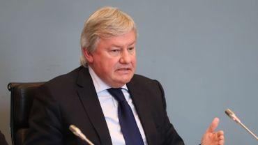 Jean-Claude Marcourt, ministre des Médias en Fédération Wallonie-Bruxelles.