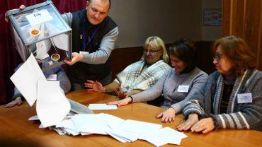 A Moscou, seuls 21,63% des électeurs ont voté.