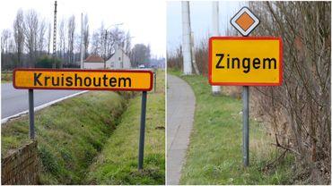 Les communes flamandes de Kruishoutem et de Zingem vont fusionner et s'appeler Kruisem.