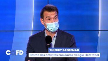 Thierry Saegeman, patron des activités nucléaires d'Engie Electrabel