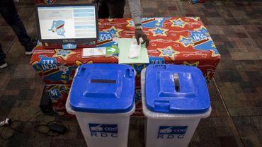 Des urnes qui serviront pour l'élection présidentielle