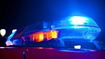 La police locale de Charleroi a surpris les auteurs en flagrant délit et tenté de les intercepter (illustration).