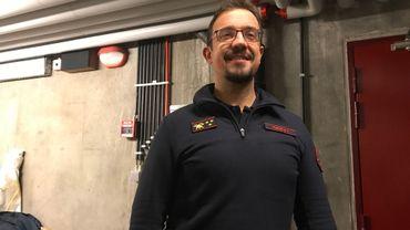 CapitaineTanguy Fierens des pompiers de Huy