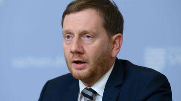 Michael Kretschmer, le Ministre-président de la Saxe.