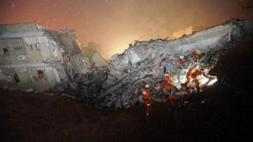 Glissement de terrain en Chine: le bilan s'alourdit à 91 disparus