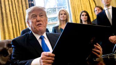 L'administration Trump prépare deux décrets qui prévoient la réduction, voire la suppression, de la contribution financière des Etats-Unis à plusieurs agences des Nations unies.
