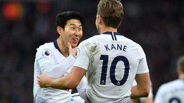 Tottenham avec Kane, Sissoko et Son dans le onze de base contre Manchester United
