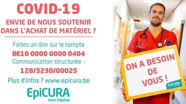 Epicura a besoin de matériel: le groupe hospitalier lance un appel aux dons