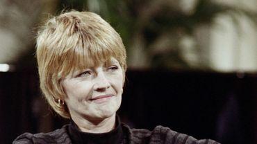 La dessinatrice Claire Brétecher sur Antenne 2 le 10 novembre 1987.