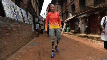 L'alpiniste chinois Xia Boyu